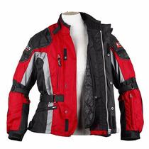 Chamarra Motociclismo Protecciones Duhan D023