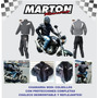 Envio Gratis. Chamarra Para Motociclista Con Protecciones