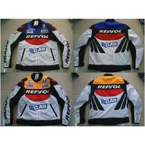 Chamarra Motociclismo Protecciones Duhan Repsol Vs03 Ox600d