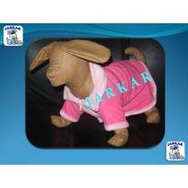 Abrigo Gamuza Polar T1 (5 Pzas) Para Perro