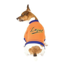 Suéter Para Perro Fashion Pet Naranja Leal Terry Chaqueta P