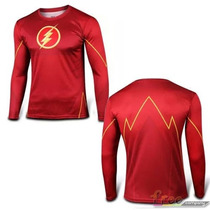 Playera Marvel Super Heroes The Flash Demora 4-5 Sem