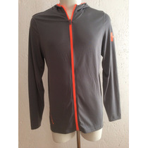 Sudadera Hoodie Under Armour Color Gris Tech Full Zip 2015