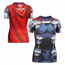 Playera Alter Ego Under Armour Thor Marvel