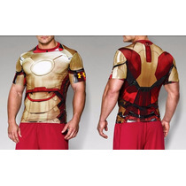 Playera Alter Ego Under Armour Marvel Iron Man