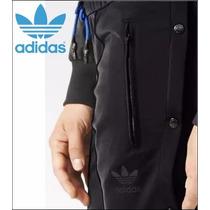 Pantalón Adidas Originals Botones Broche En Pierna Negro