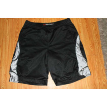 Short Nike Basketball Performance Color Negro Y Plata Tallam