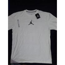 Playera Nike Jordan Talla L Hombre Algodón