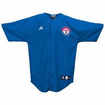 Jersey Juvenil Adidas De Los Texas Rangers Mlb
