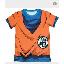 Playera Goku/ Dragon Ball Deportiva