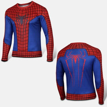 Playera Marvel Super Heroes Spiderman Red Demora 4-5 Sem