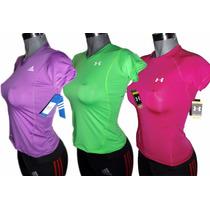 Blusa Deportiva Puma, Nike, Adidas, Under Armour 100% Lycra