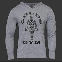 Sudadera Golds Gym Algodon Licra Bodybuild Tarda 4-6 Semanas