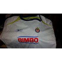 Playera Chivas Reebok Blanca Original Talla Xl