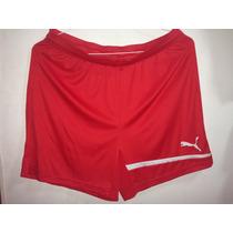 Short Deportivo Puma Rojo
