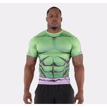Playera De Lycra Under Armour Hulk 2016 Nuevo