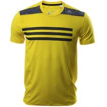 Playera Entrenamiento Techfit Ajustada Hombre Adidas Ab4939