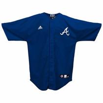 Jersey Juvenil Adidas De Los Atlanta Braves Mlb
