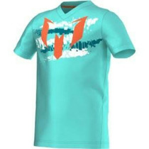 Playera Jersey Adidas Messi Yb M Logo Tee S08774 M