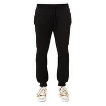 Pants Jogger Dope Talla L G Slim Quilted Negros Nuevos Swag