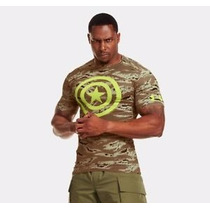 Under Armour Camisa Compression Capitan America