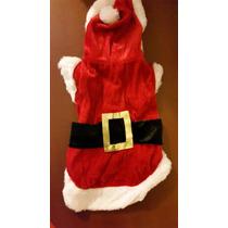 Traje De Santa Claus Mascotas