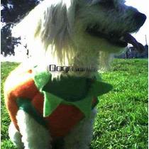 Calabaza Disfraz Halloween Para Perro Talla Cuatro Hdm