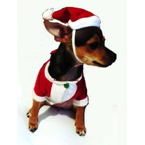 Disfraz Para Mascota-perro-gato-ropa-navidad-santa