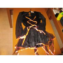 Vestido Bruja 12- 14 Años