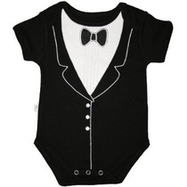 Frenchie Mini Couture Niños Tuxedo Body