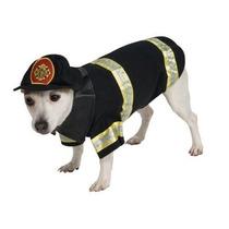 Disfraz Para Perro Bombero Del Perro Del Traje Del Animal D