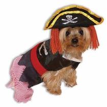 Disfraz Para Perro Perro Del Pirata Del Traje De Halloween