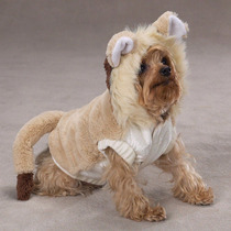 Disfraz Para Perro En Forma León Talla Grande Y Extragrande