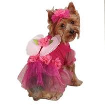 Disfraz Para Perro Casual Canine Flor De Hadas Del Traje De