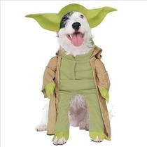 Disfraz Para Perro Star Wars Yoda Vestuario Perro Pequeño