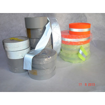 Cinta Reflejante Textil Uniformes Rollos 2 Pulg 100 Mts 799