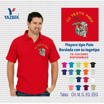 Uniformes Industriales Playera Tipo Polo Bordada