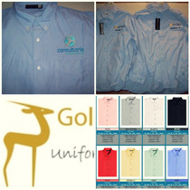 Camisas Blusas Vestir Bordadas Uniformes Bordados Camisa