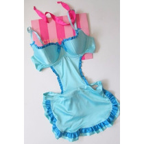 Victorias Secret The Ruffle Push Up Bra Tedy Disfraz 34c