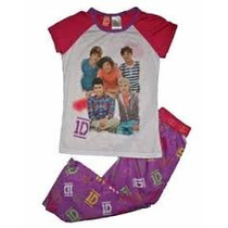 Pijama 7/8 Anos One Direction Nina Playera Pantalon 1d Blusa