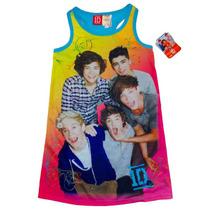 Pijama 6 Anos One Direction Nina Camison Rosa Azul 1d Nyal++