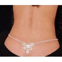 Body Chains Cadenas Para Cadera Cintura Mariposa Stripper Se