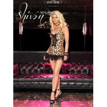 Mini Vestido Leopardo Leg Avenue 28013 Liquidacion