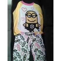 Pijama De Niña De Minion Super Pachoncita *_*
