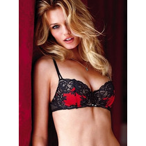 Victorias Secret The Seduction Jewel Unlined Bra Sz 34d