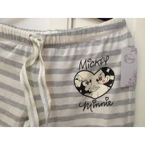 Pijama Mickey-minnie Disney Talla M -única - Promo 14/feb