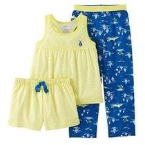 Carters Modelo Pijama 3 Piezas Niña 2 Años Envio Gratis