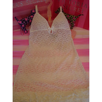 Victorias Secret The Bridal Lace Baby Doll Novia Sz S