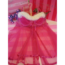 Victorias Secret Santa Holiday Baby Doll Sz L