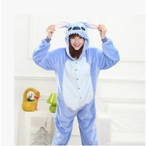 Pijama Mameluco Kigurumi Onesi Cosplay Stitch Adulto Y Envio